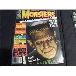 FAMOUS MONSTERS OF FILMLAND #218