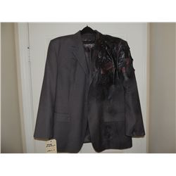 BATMAN THE DARK KNIGHT 2 FACE HARVEY DENT SCREEN USED STUNT TRASFORMATION SUIT COAT