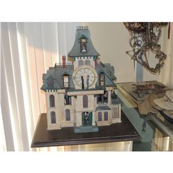 ADAMS FAMILY THE SCREEN USED & MATCHED HERO CLOCK FROM OPENING CREDITS