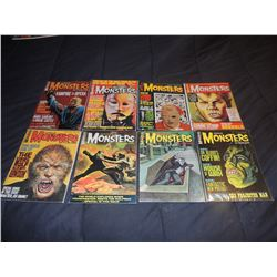 FAMOUS MONSTERS OF FILMLAND #040 - #049 LOT OF 8 ISSUES