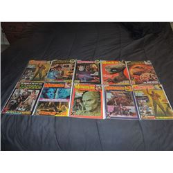 FAMOUS MONSTERS OF FILMLAND #180 - #191 LOT OF 10 ISSUES