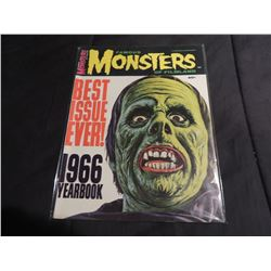 FAMOUS MONSTERS OF FILMLAND 66 YEARBOOK
