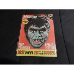 FAMOUS MONSTERS OF FILMLAND 67 YEARBOOK