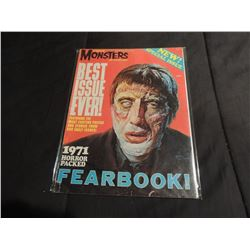 FAMOUS MONSTERS OF FILMLAND 71 YEARBOOK
