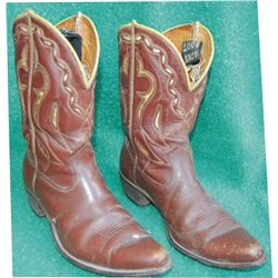 2 pairs 40's-50's  Acme inlaid boots