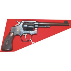 documented Smith & Wesson Wells Fargo .38 special model 1905 hand ejector #419807
