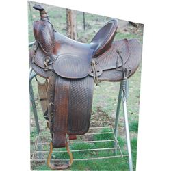 early Vanco high back saddle