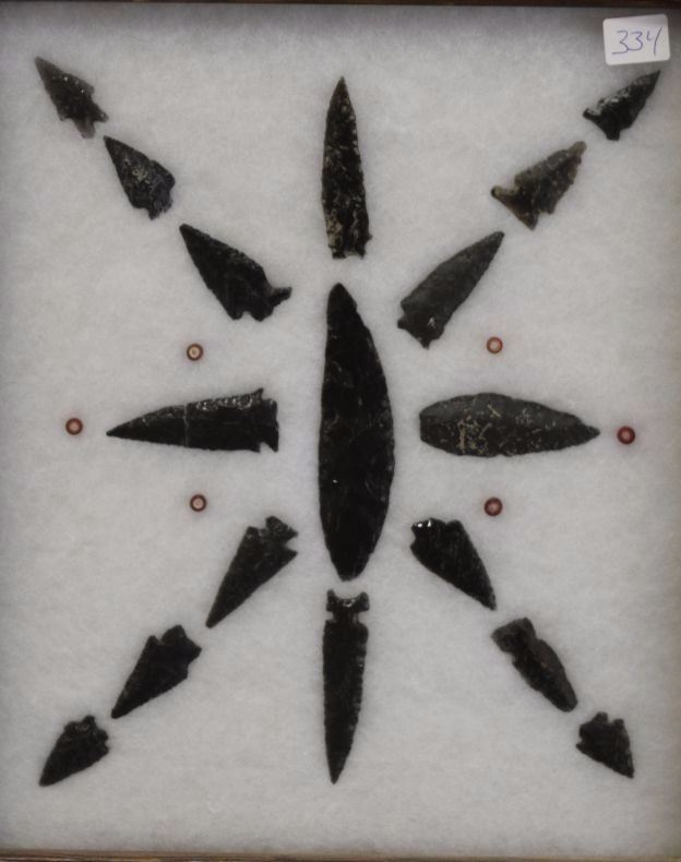 dating obsidian arrowheads and spear