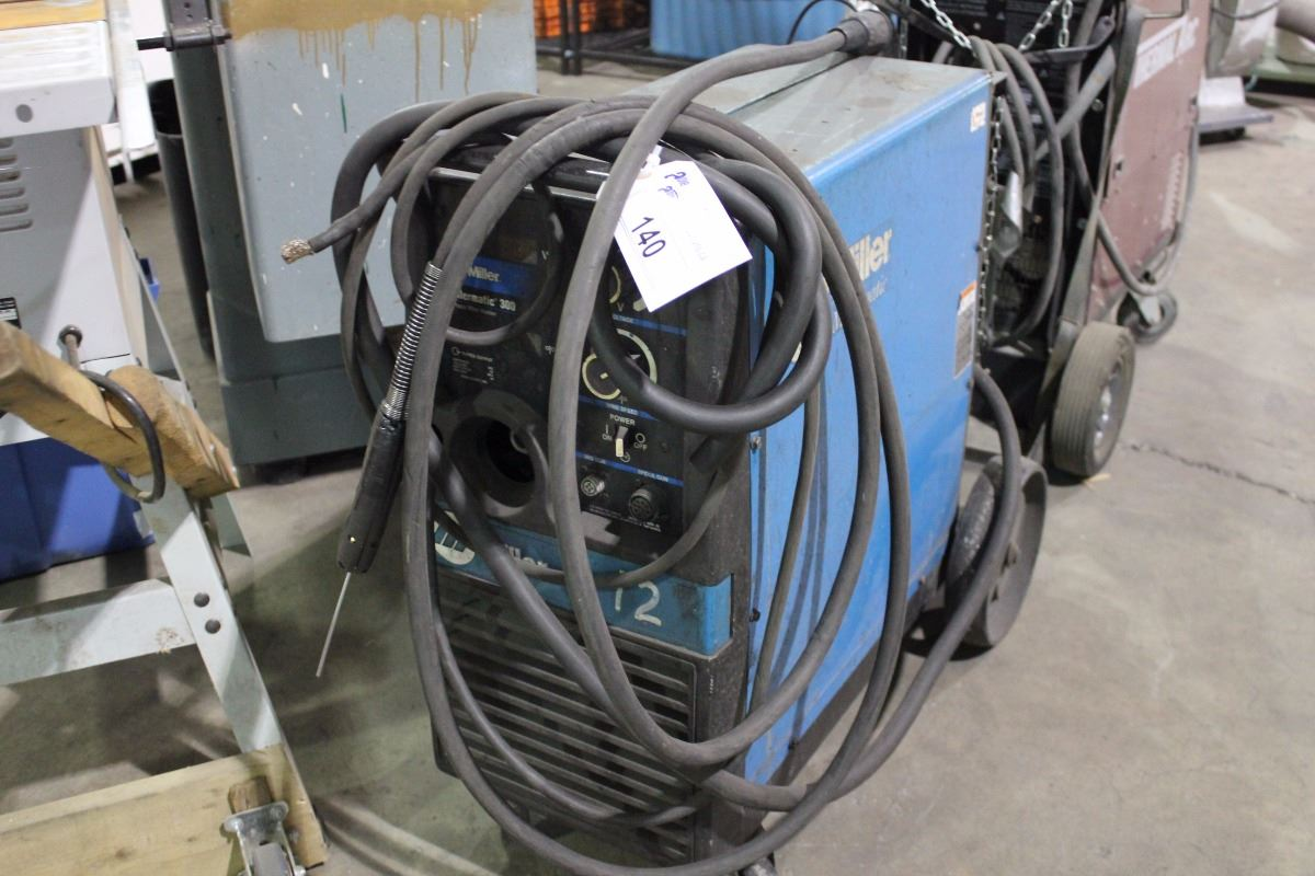 Miller Millermatic 300 3 Phase Wire Welder Wiring A Image 1