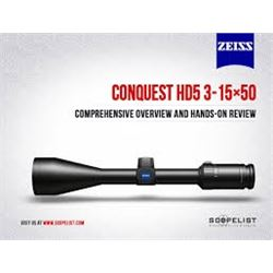 Zeiss 3-15x50 Conquest HD5 Scope