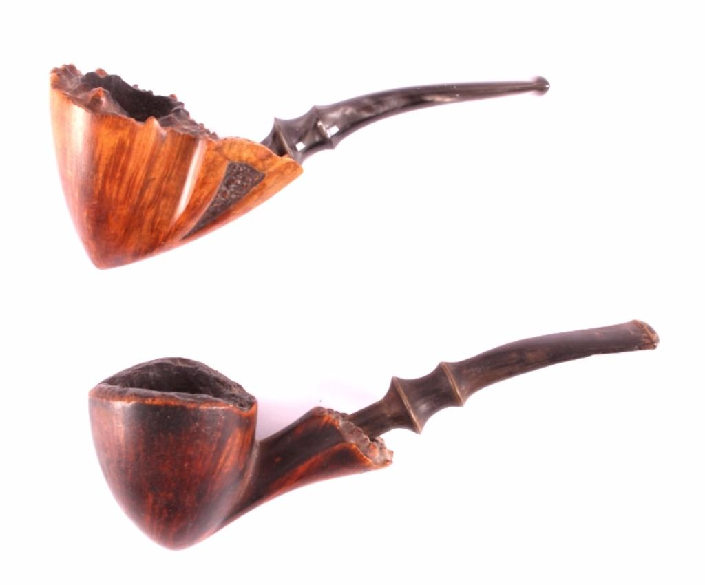 Free Form Custom Made Signed Briar Tobacco Pipes - Free invoices and estimates tobacco online store