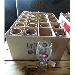 Stella Artois Footed Glasses (24)