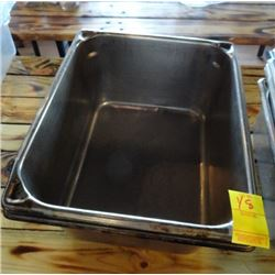 "2 S/S Half x 6"" Insert Pans - 2 Times the Money"