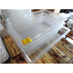 4 Large Cambro Insert Pans - 4 Times the Money