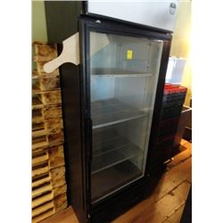 True Single Door Refrigerated Merchandiser Tested to 36deg