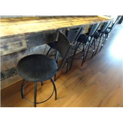 8 Padded Metal Barstools - 8 Times the Money