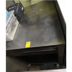 S/S Rolling Equipment Stand w/Drawer