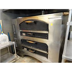 Marsal Gas Double Brick Pizza Oven