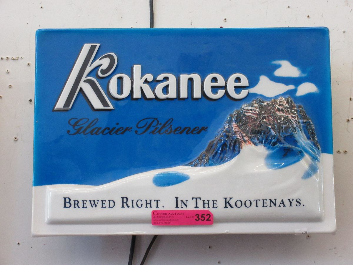 Image result for kokanee beer sign