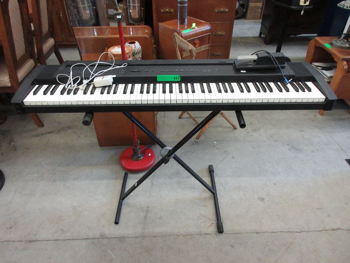 roland ep 9 digital piano with stand foot pedal. Black Bedroom Furniture Sets. Home Design Ideas