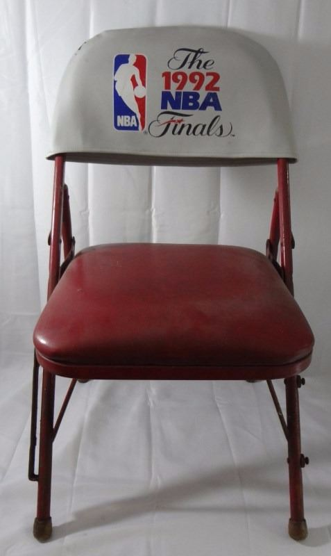 Image 1  CHICAGO STADIUM COURT SIDE CHAIR - USED by PLAYERS/COACHES during BULLS ... & CHICAGO STADIUM COURT SIDE CHAIR - USED by PLAYERS/COACHES during ...