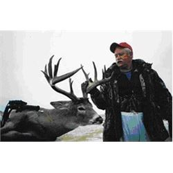 6-Day Saskatchewan Whitetail Deer Hunt for 1 hunter