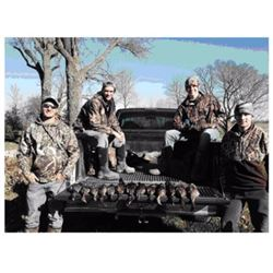 3 Days/3 nights Missouri Duck/Goose hunt for 2 hunters