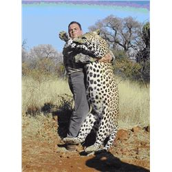 14- Day Namibia Leopard hunt for 1 hunter (1X1)