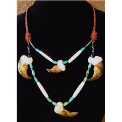 Genuine Bear Claw Necklace