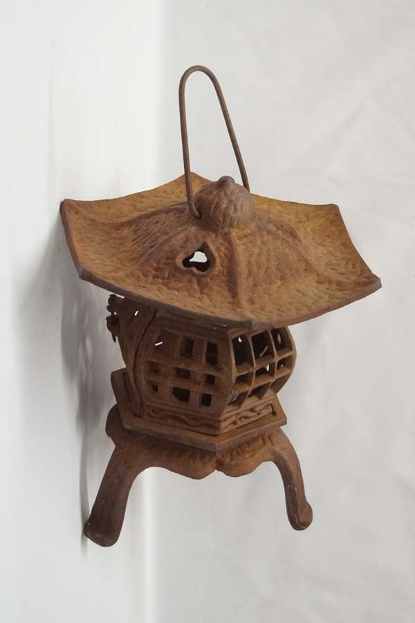 Cast iron chinese lantern