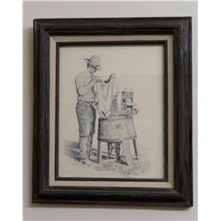 Don Greytak, framed print, Wash Day, #269/500
