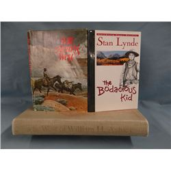 3 books: The West of William Ashley by Dale Morgan, 1964, 1st; The Bodacious Kid by Stan Lynde, 1st;