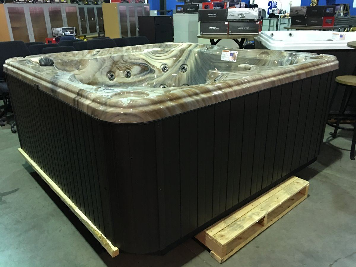 series loading hot with cal mahogany round tub white zoom spa snow spas coleman cabinet and interior