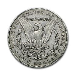 1904-S $1 Morgan Silver Dollar VG