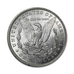 1880-O $1 Morgan Silver Dollar AU