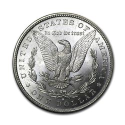 1882-S $1 Morgan Silver Dollar AU