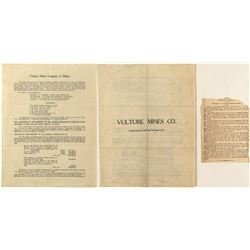 Promotional Report of Vulture Mines Company