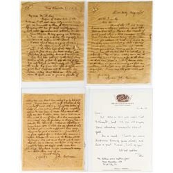 Interesting 130 Year-old Letters with note from Peter Bancroft