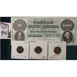 "$1000 ""Confederate States of America Souvenir of the 150th Anniversary of the 1861--> Civil War <--1"