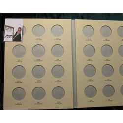 Littleton Coin Folder for Walking Liberty Half Dollars with 1946 P, D, & 47 P, & D U.S. Walking Libe