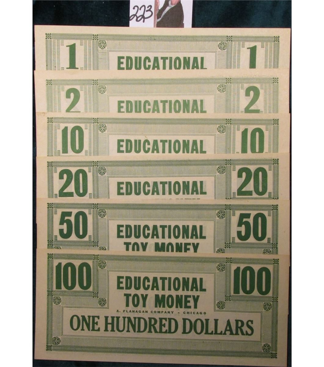 Toy Money 100 : Educational toy money a flanagan company chicago