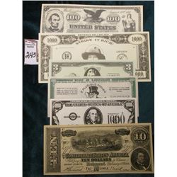 "$1000 ""Beverly Hillbilies Strike It Rich Jed Clampett"" Note Series of 1993; ""Beecher-Leonard Co., …N"
