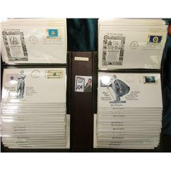 (1) Complete Set of Capital 50 States First Day Covers in binder.