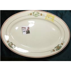 """Hotel Fort Des Moines"" China Serving Platter. ""Skenango China/New Castle, Pa./Made For/Albert Pick"