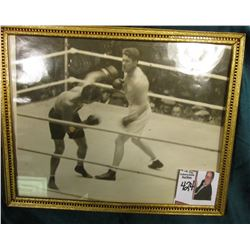 "8"" x 10"" Black & White Photo of the 9/22/1927 Boxing Match between Jack Dempsey vs Gene Tunney - The"