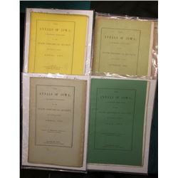 """The Annals of Iowa; A Quarterly Publication, by the State Historical Society, at Iowa City. April,"