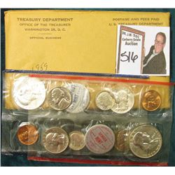 1959 U.S. Mint Set. Original as issued in envelope and cellophane.