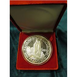 "Large ""Panama-Pacific Exposition San Francisco Fifty Dollars"" Replica, Five Troy Ounces struck in .9"