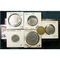 "(10) Different Good For Tokens including: ""Parkston, S.D."", ""Lansford, S.D."", ""Stickey, S.D."", ""Huro"