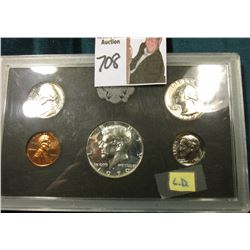 1970 S U.S. Silver Proof Set in hard plastic case as issued.